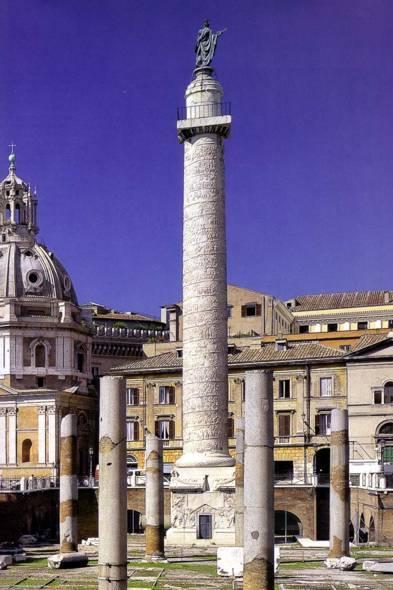 Колонна Трояна в Риме