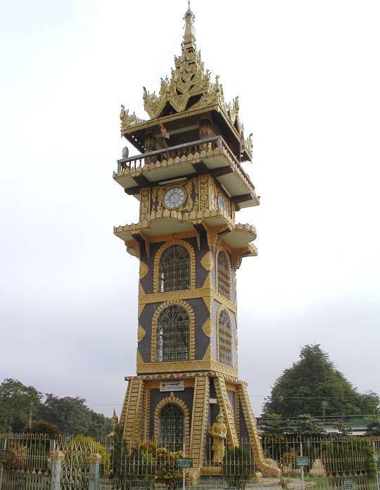 Бирма. Мандалай. Храм Змеи